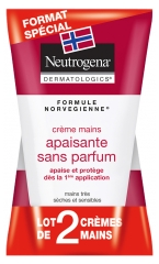 Neutrogena Soothing Hands Cream Fragrance Free 2 x 50ml