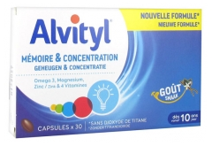 Alvityl Memory And Concentration 30 Capsules