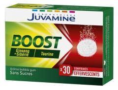 Juvamine Boost Ginseng Taurina 30 Comprimidos Efervescentes