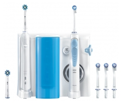 Oral-B Oral Health Center Oxyjet Cleaning System + Cepillo de Dientes Pro 900