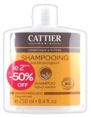 Cattier Frequent Use Yoghurt Solution Shampoo 2 x 250ml