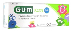 GUM Kids Fluoride Toothpaste 2-6 50ml