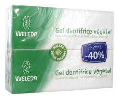 Weleda Plant Gel Toothpaste 2 x 75ml