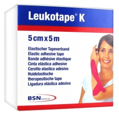 BSN medical Leukotape K Elastic Adhesive Tape 5cm x 5m
