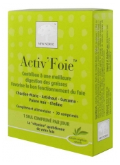 New Nordic Activ'Foie 30 Tablets