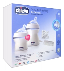 Chicco Natural Feeling Kit Geburt 0 Monate und +