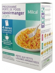 Milical Weight Loss Program Pasta 4 Sachets