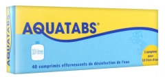 Aquatabs 10 Liters 40 Tablets
