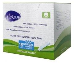 Unyque 16 Normal Tampons with Applicator