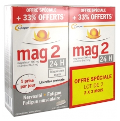 Mag 2 24 H 45 Tablets + 15 Tablets Offered Pack of 2
