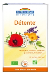 Biofloral Infusions Organic Relaxation 20 Sachets