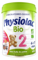 Physiolac Organic 2 From 6 to 12 Months 800g