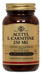 Solgar Acetyl-L-Carnitine 250mg 30 Vegetable Capsules
