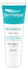 Dermagor Matiderm Matifying And Seboregulating Cream 40ml