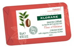 Klorane Hibiscus Flower Cream Soap 100g