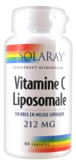 Solaray Liposomal Vitamin C 212mg 60 Gel-Caps