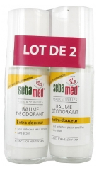 Sebamed Baume Déodorant Extra Douceur Lot de 2 x 50 ml