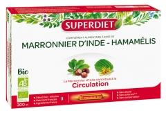 Super Diet Organic Horse Chestnut Hamamelis 20 Phials