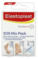 Elastoplast Foot Expert SOS Mix Pack 6 Apósitos