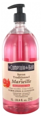 Le Theke du Bad Traditionelle Seife aus Marseille Grapefruit Rose 1 L