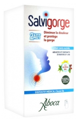Aboca Salvigorge 2Act Spray Sans Alcool 30 ml