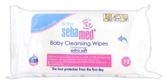 Sebamed Baby Cleansing Wipes 72 Wipes