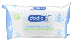Dodie 70 Water Wipes