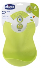 Chicco Flexible Bib with Recuperator 6 Months and +