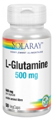 Solaray L-Glutamin 500 mg 50 Pflanzenkapseln