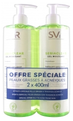 SVR Sebiaclear Gel Moussant 2 x 400 ml