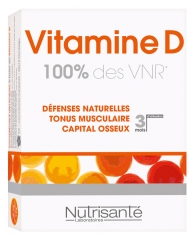 Nutrisanté Vitamin D 90 Tablets