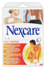 3M Nexcare 5 Patchs Chauffants