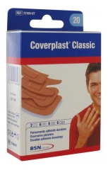 BSN medical Coverplast Classic 20 Pansements Adhésifs Durables
