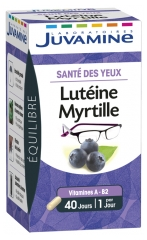 Juvamine Phyto Lutein Blueberry 40 Capsules