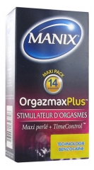 Manix Orgazmax Plus 14 Condoms