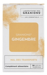 Granions Les Essentiels Ginger 30 Vegetable Capsules