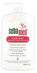 Sebamed Everyday Brillance Extra-Douceur Shampoing Usage Fréquent 1000 ml