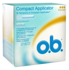 O.b. Compact Applicator 16 Sellos Normales