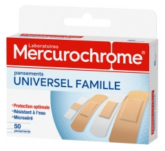 Mercurochrome Universal Family 50 Strips