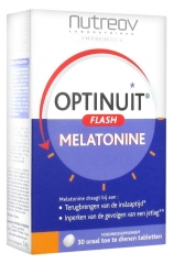 Nutreov Optinuit Flash Mélatonine 30 Comprimés