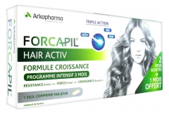 Arkopharma Forcapil Hair Activ 3 x 30 Tablets