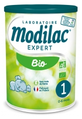 Modilac Expert Bio 1 from 0 to 6 Months 800g