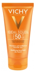 Vichy Capital Idéal Soleil Emulsion Anti-Brillance Toucher Sec SPF 50 50 ml