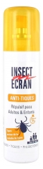 Insect Ecran Anti-Ticks Skin Repellent Adults and Children 100ml