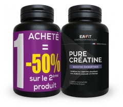 Eafit Muscle Construction Pure Creatine Energetic Booster 2 x 90 Capsules