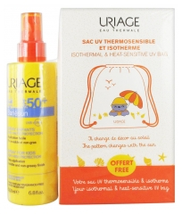 Uriage Bariésun Spray For Kids SPF 50+ 200ml + Free Isothermal and Heat-Sensitive UV Bag
