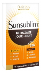 Nutreov Sunsublim Tanning Day - Night 15 Capsules Day + 15 Capsules Night