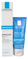 La Roche-Posay Effaclar Duo [+] 40ml + Effaclar Purifying Foaming Gel 50ml Free