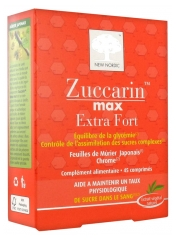 New Nordic Zuccarin Max Extra Strong 45 Tablets