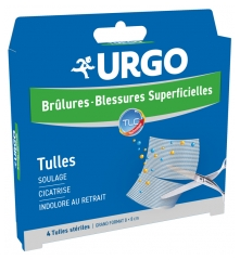 Urgo Superficial Burns and Wounds Tulles x4